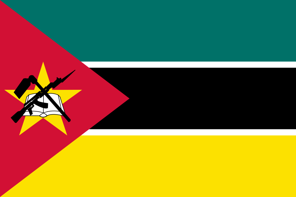 Mozambique Flag colors meaning history of Mozambique Flag