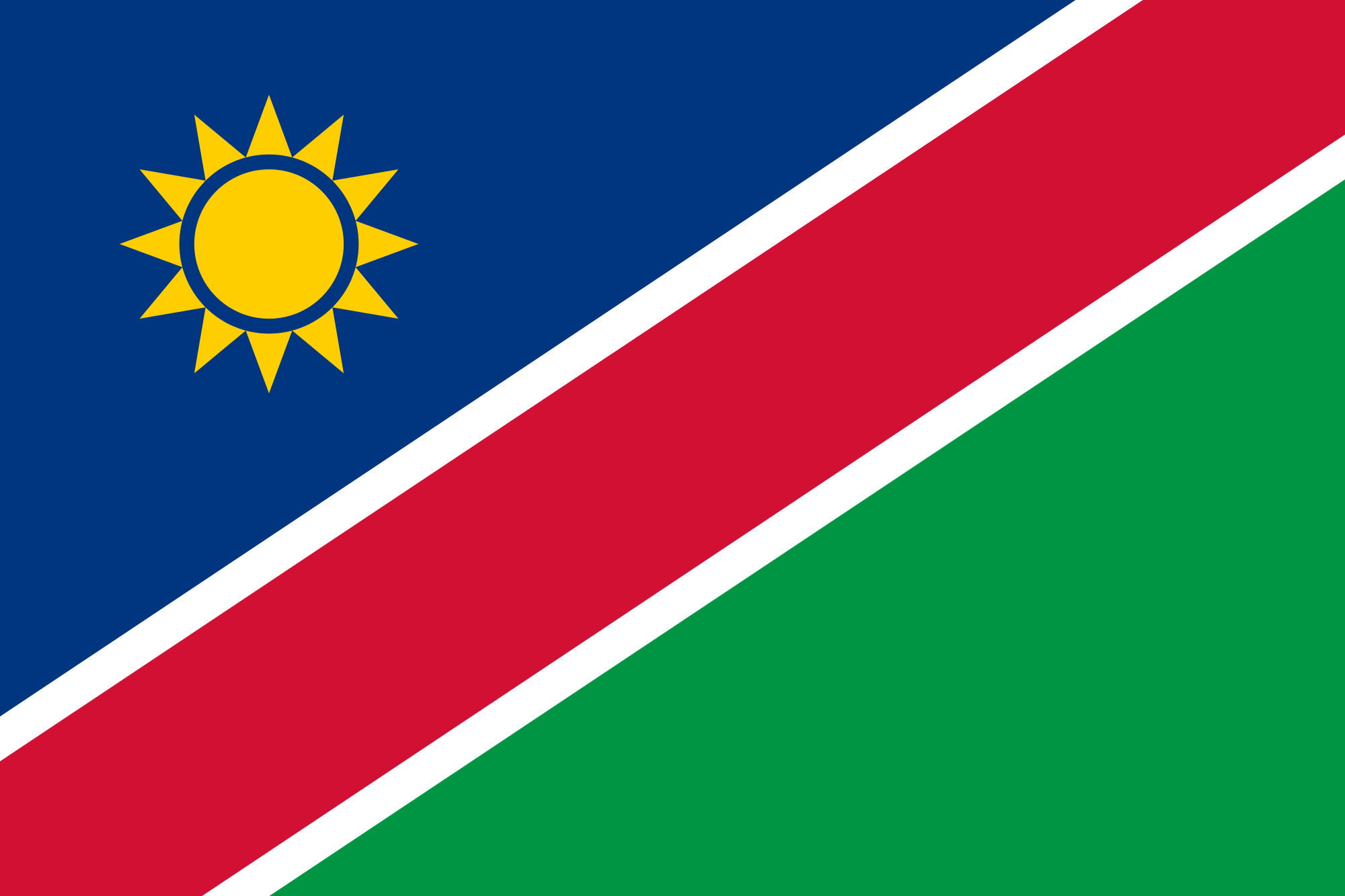 namibian flag Google Search | Namibia | Pinterest | Flags