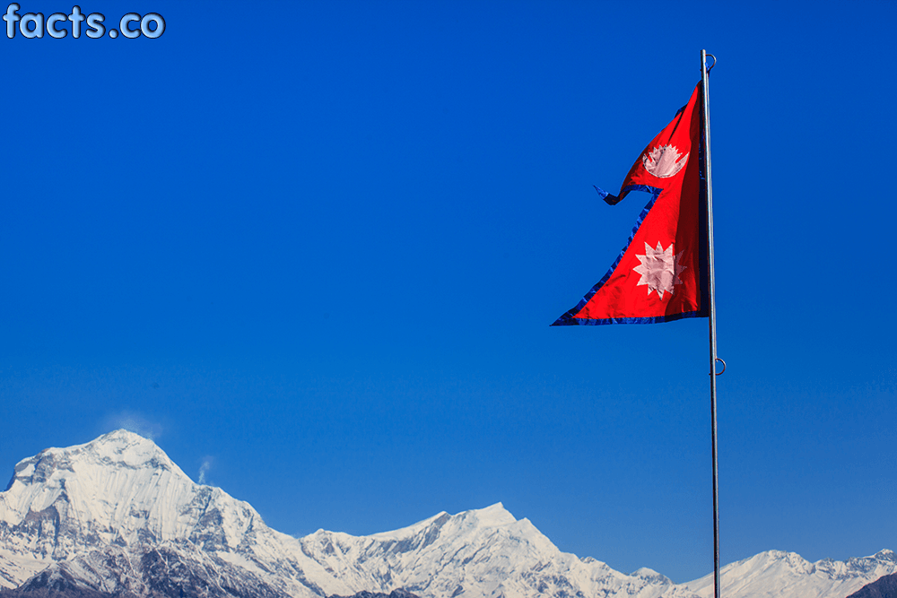 Nepal flag colors, meaning and symbolism