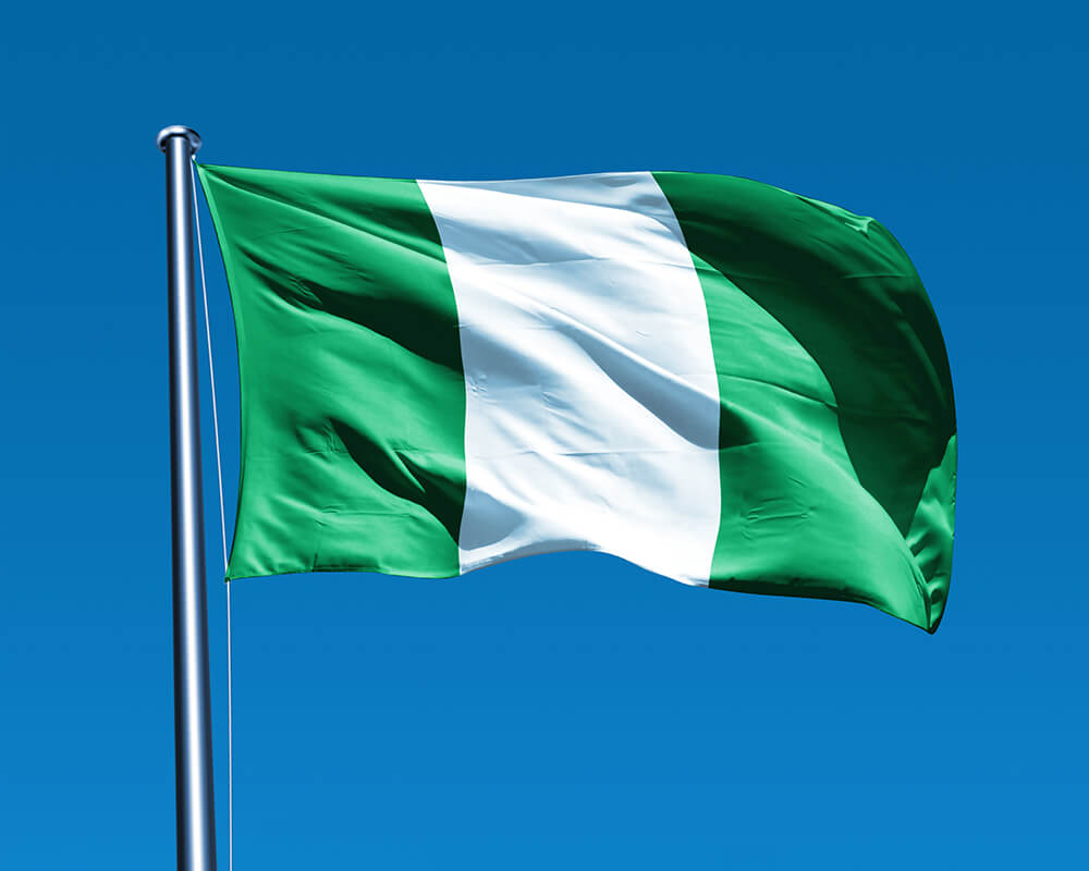 Nigerian Flags (Nigeria) from The World Flag Database