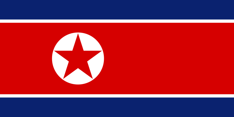 File:Flag of North Korea.svg Wikimedia Commons