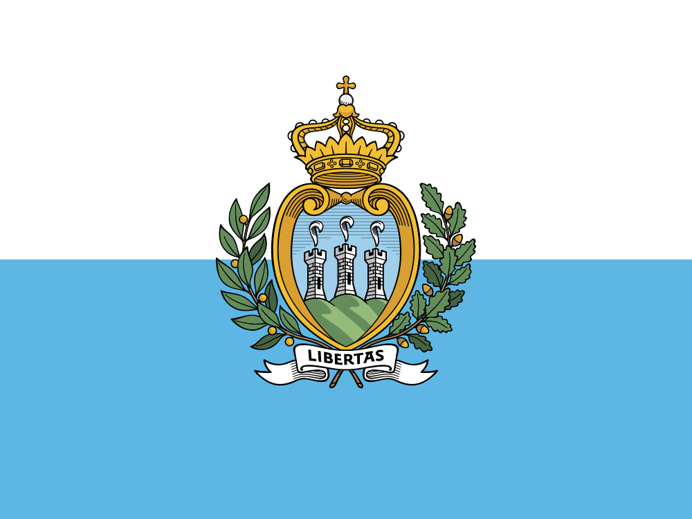 San Marino Flag colors meaning history of San Marino Flag