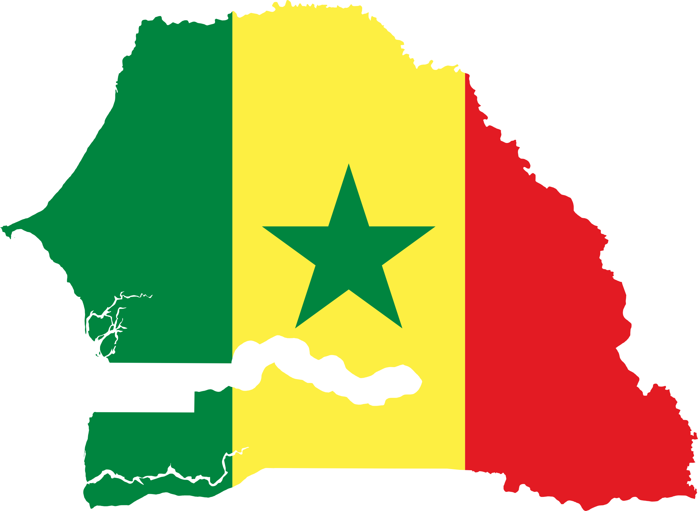 Senegal Flag Loop 2 Stock Footage Video 1370374 Shutterstock