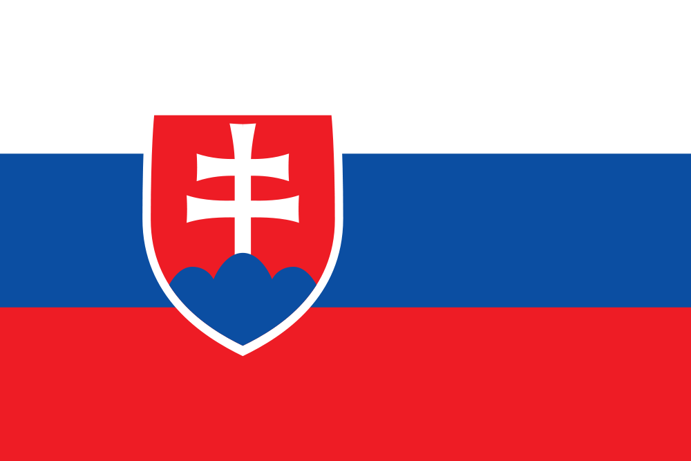 Amazon.: Slovakia Flag Polyester 3 ft. x 5 ft. : Slovak Flag