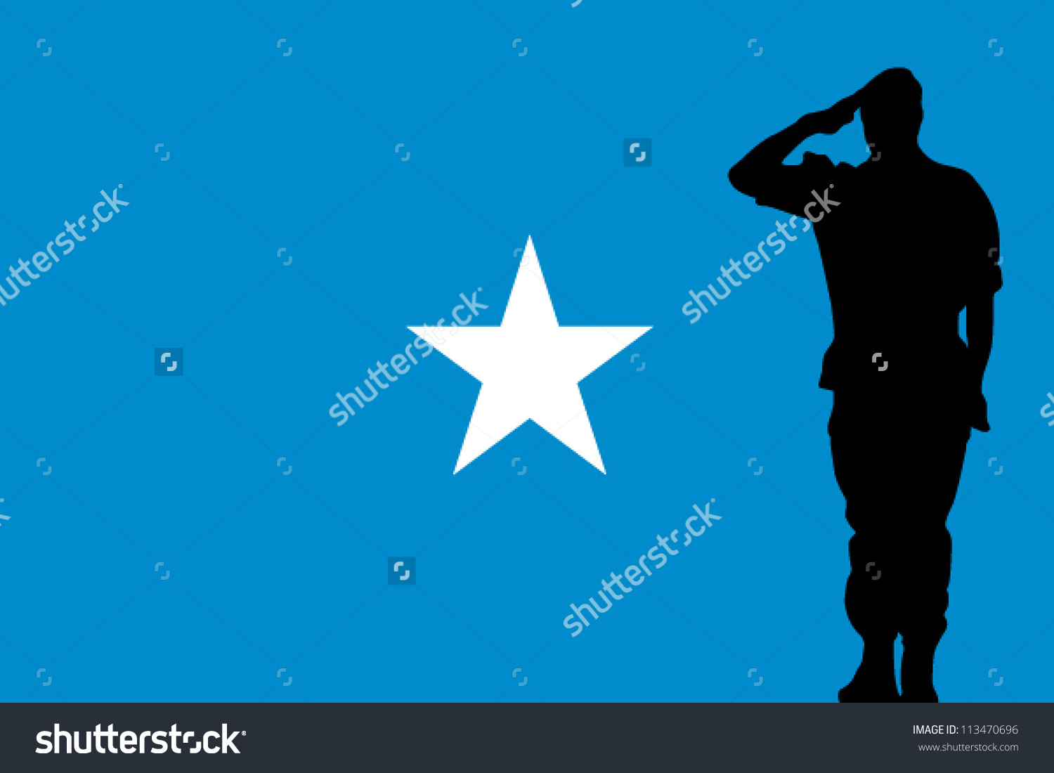 Free vector graphic: Somalia, Flag, National Flag Free Image on