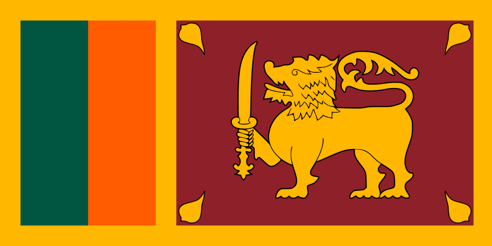 Sri Lanka Flag colors Sri Lankan Flag meaning history