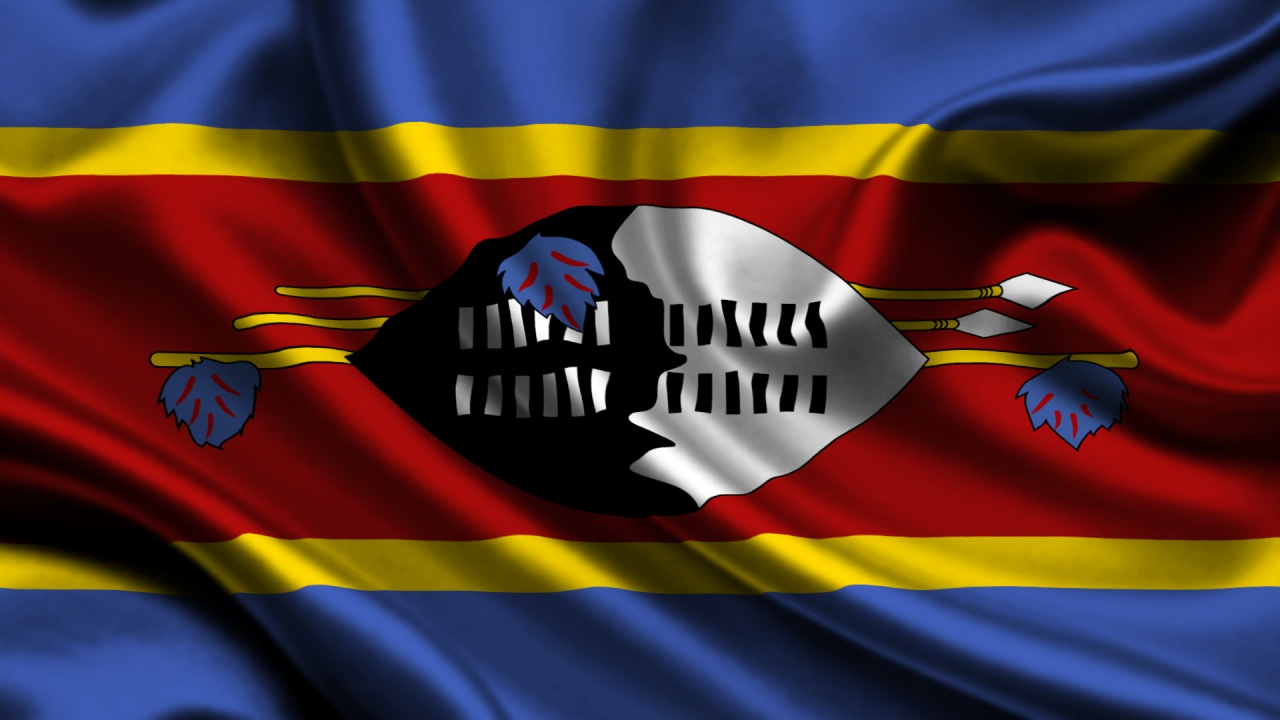 Swazi Flags (Swaziland) from The World Flag Database