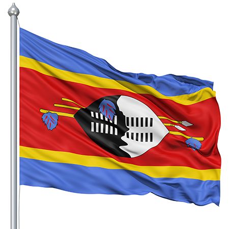 Swaziland Flag colors meaning history of Swaziland Flag