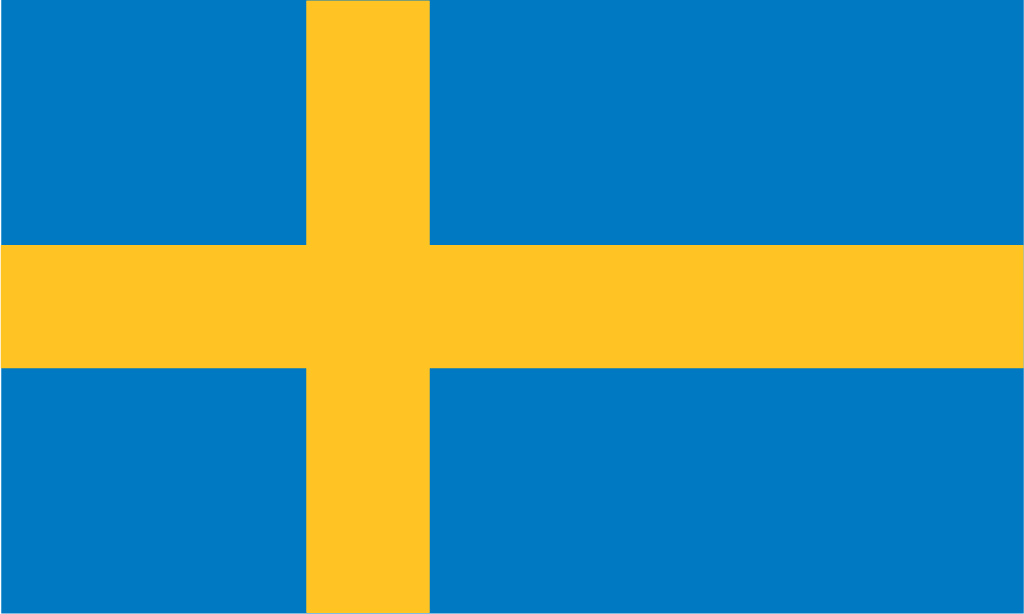 Free Sweden Flag Images: AI, EPS, GIF, , PDF, PNG, and SVG