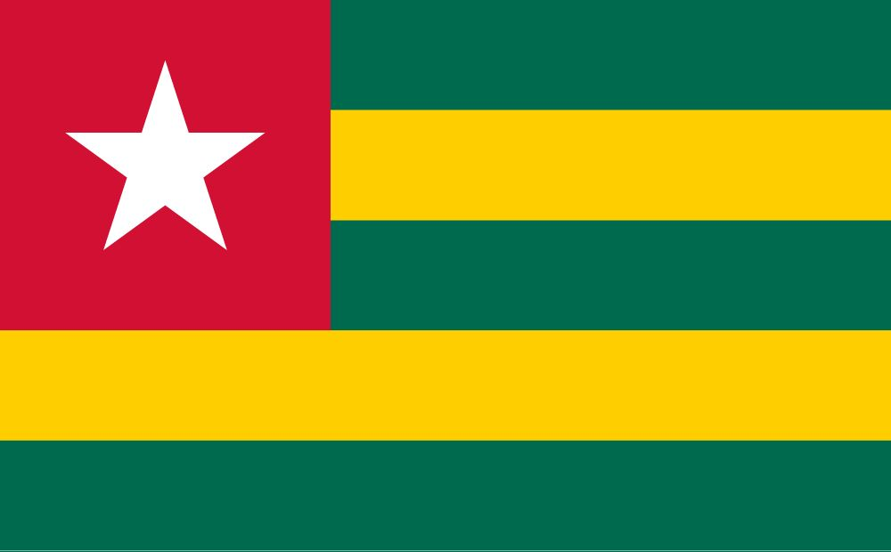 Togolese Flags (Togo) from The World Flag Database