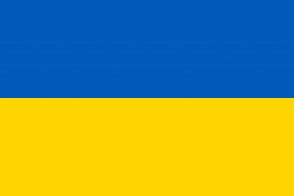 Flag of Ukraine EnchantedLearning.com