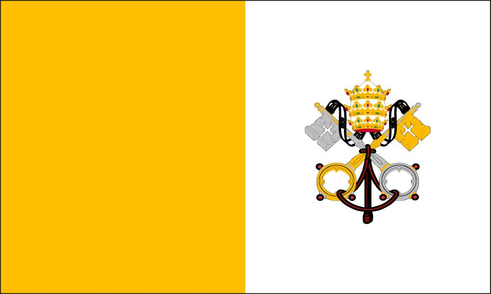 Vatican City Flag MetroFlags. The Largest Online Provider